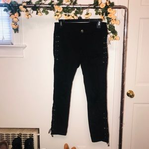 Charlotte Russe cropped jeans